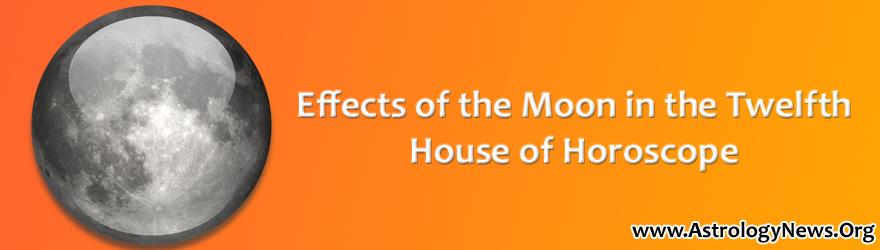 Moon in Twelfth House